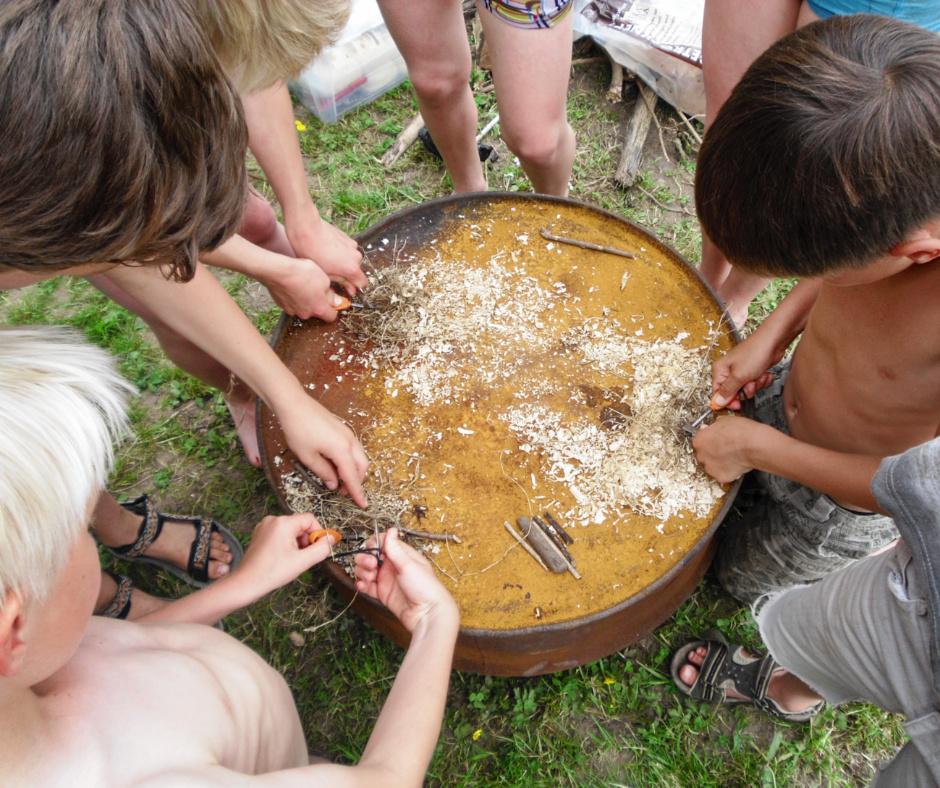 Kids Bushcraft Party
