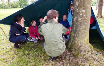 Kids Bushcraft party